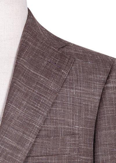 Henderson Suit | Brown Flax
