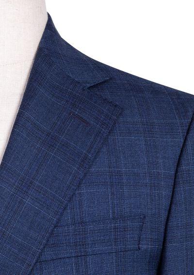 Sinclair Suit | Blue Wide Tonal Check