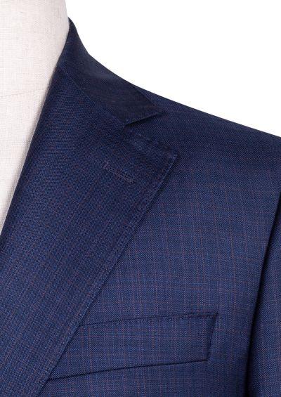 Sinclair Suit | Navy Multicheck