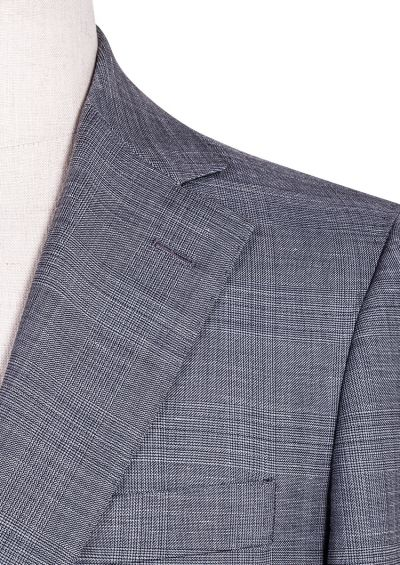 Spencer Suit | Grey Prince of Wales Check