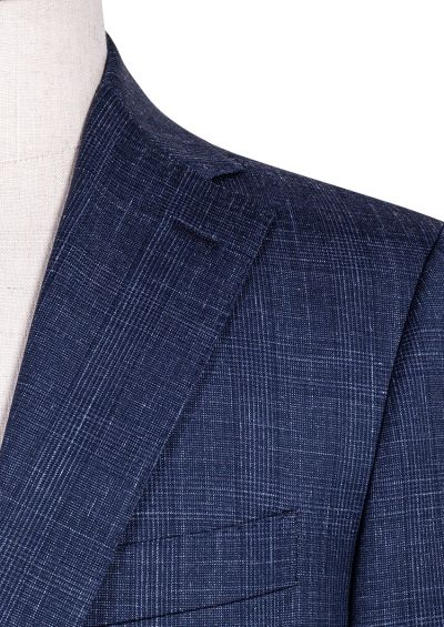 Ives Suit | Dusty Blue Shadow Check