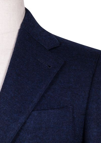 Sonny Jacket | Navy Knitted Sportcoat