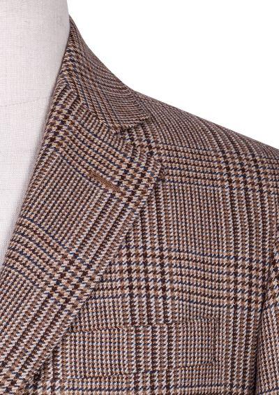 Archer Sport Coat | Brown / Beige Heritage Check