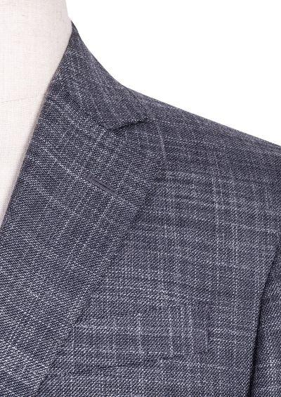 Archer Sport Coat | Charcoal Grey Flax Design