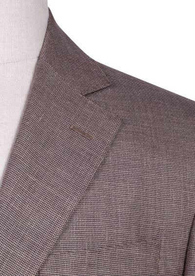Archer Sport Coat | Taupe Houndstooth