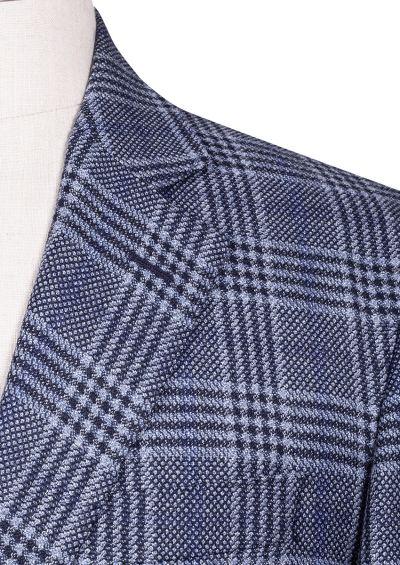 Archer Sport Coat | Blue Heritage Check