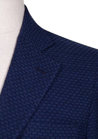 Ryder Sport Coat | Navy Waffle weave
