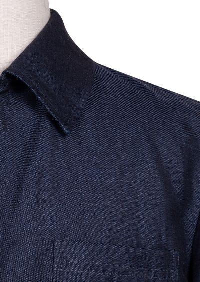 Carter Shirt Jacket | Blue flax