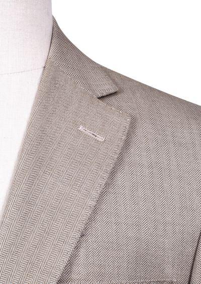 Dayton Sport Coat | Beige Herringbone