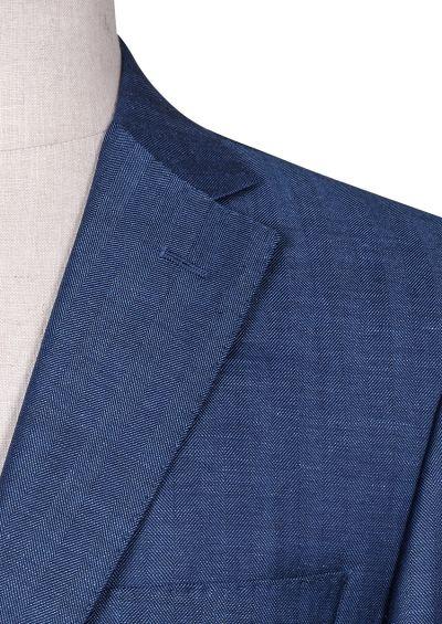 Porter Sport Coat | Blue Herringbone