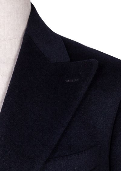 Elroy Double-Breasted Overcoat | Navy