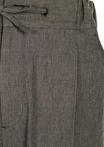 Sirenuse Trouser | Khaki Linen