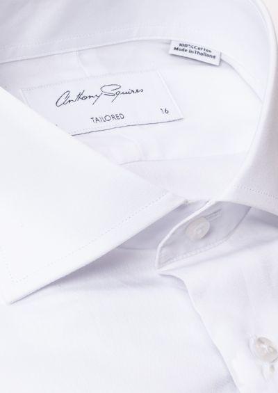Nigel Business Shirt | White Poplin