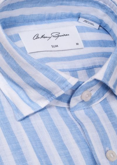 Kilby Casual Shirt | Blue Stripe
