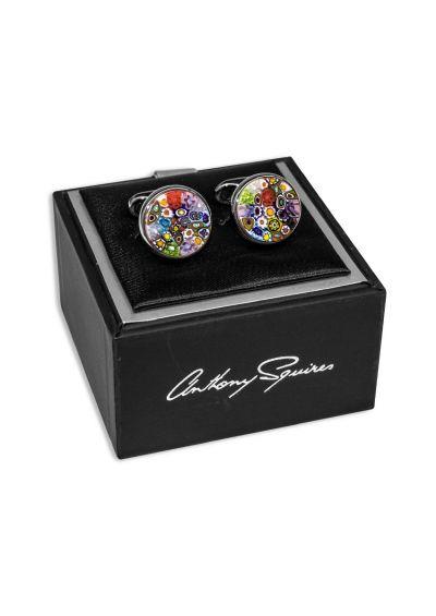 Coloured Handmade Murano Glass I Cufflinks