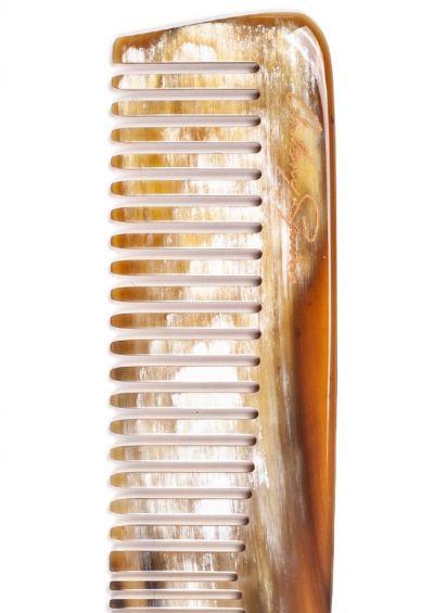 Natural horn comb | Medium Classic