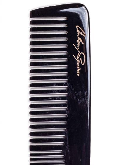 Natural horn comb| Medium Dark