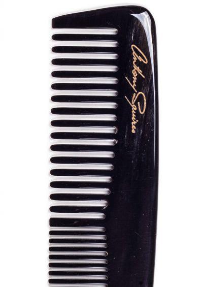 Natural horn comb | Pocket Dark