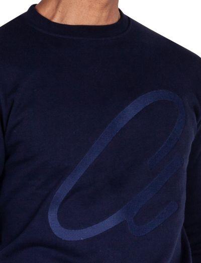 Elmer Sweat Top I Navy Blue
