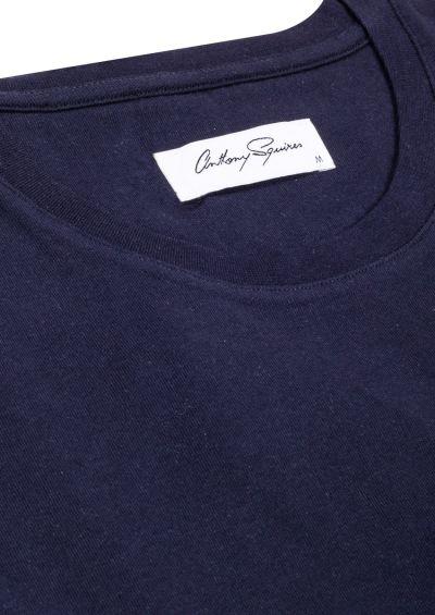 T-Shirt Crew Neck I Navy