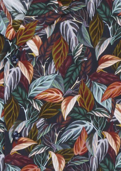 Franco Shirt | Mixed Green Botanical Print