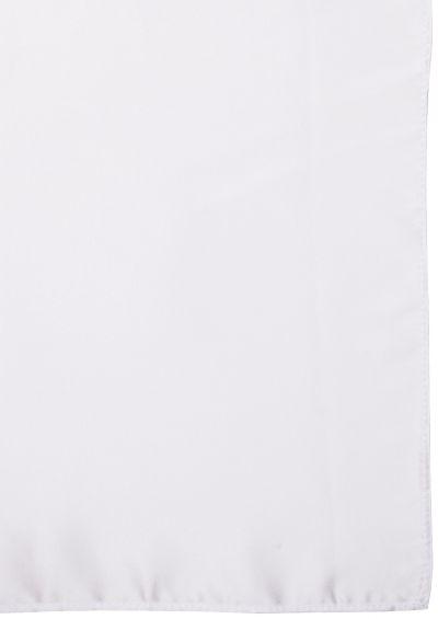 Silk Pocket Square | White