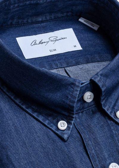 Crispin Casual Shirt | Blue Denim