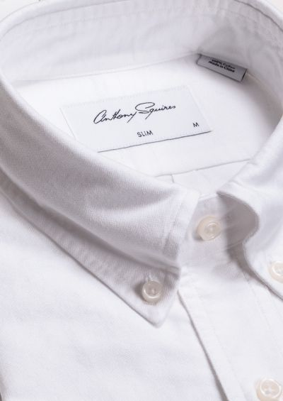 Crispin Casual Shirt | White