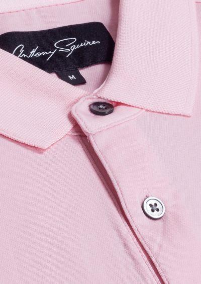 Adam Polo Shirt | Pink