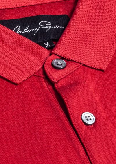 Adam Polo Shirt | Red