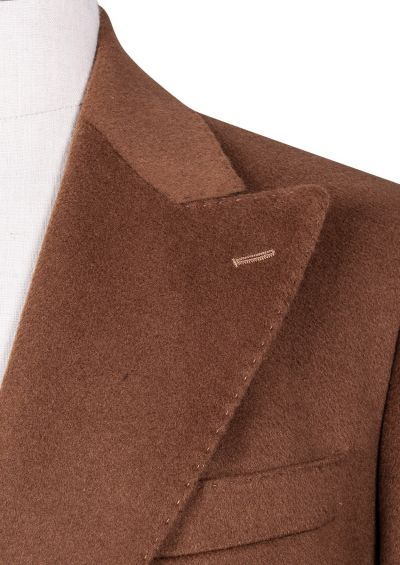 Elroy Double-Breasted Overcoat | Taupe