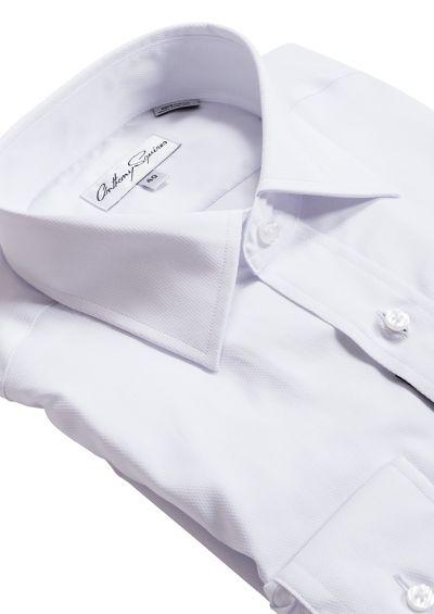 Luka Business Shirt   White