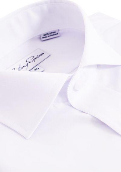 Jack Business Shirt   Poplin White