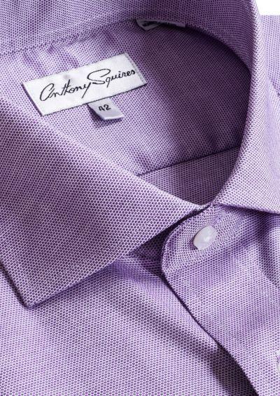 Jack Business Shirt | Lilac Microdesign