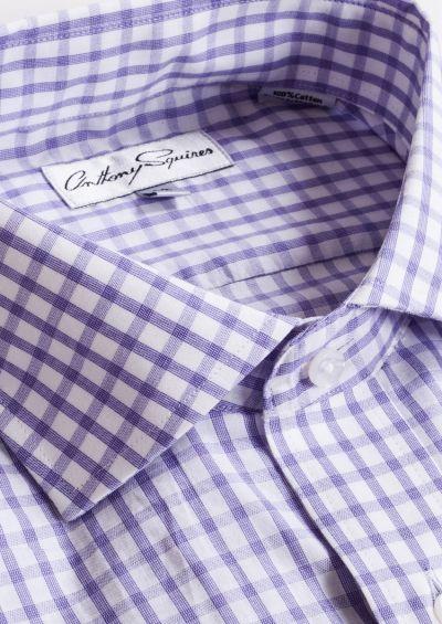 Jack Business Shirt | Lilac Check
