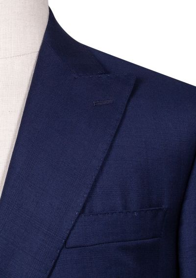 Maurice Double-Breasted Suit | Blue Windowpane