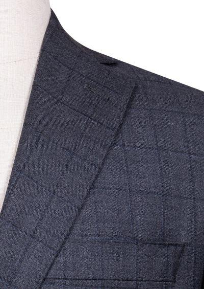 Brighton+ Suit | Charcoal Tonal Overcheck