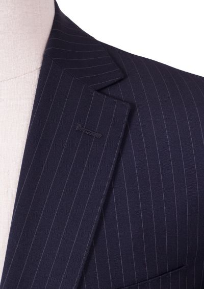Lantana Suit | Dark Navy Pinstripe