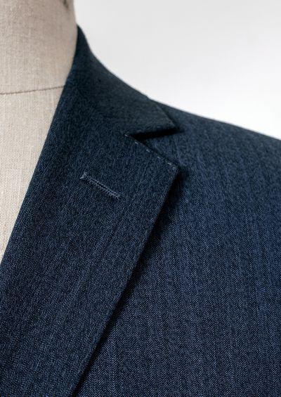Bondi Suit   Blue Herringbone