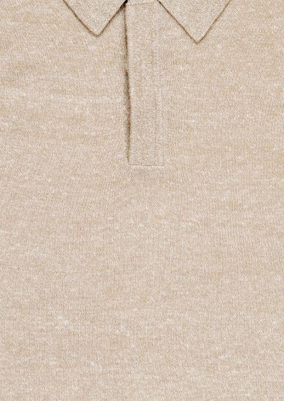 Moreshi Polo Shirt | Sand Melange
