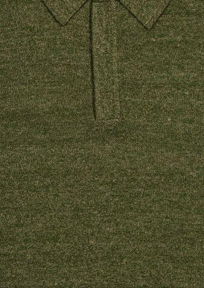 Moreshi Polo Shirt | Olive Melange