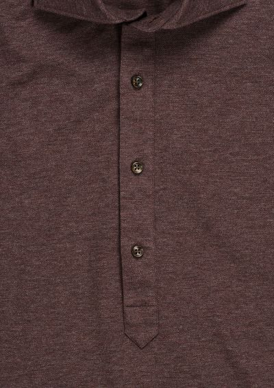 Reed Popover Shirt | Brown