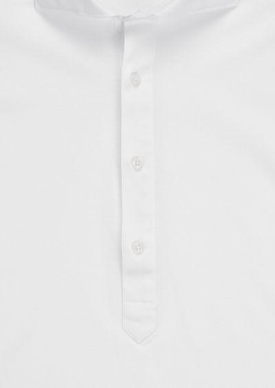 Reed Popover Shirt | White