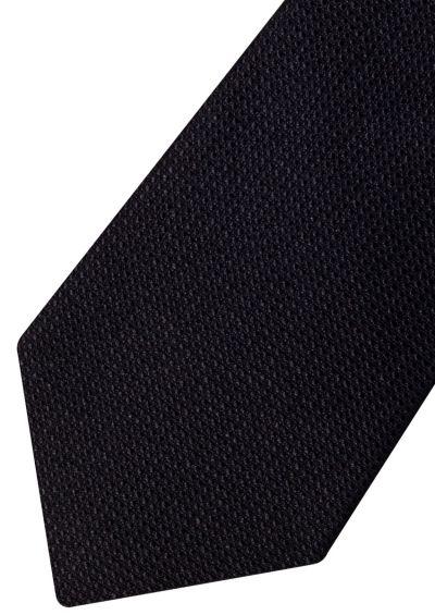 Silk Tie | Black Weave