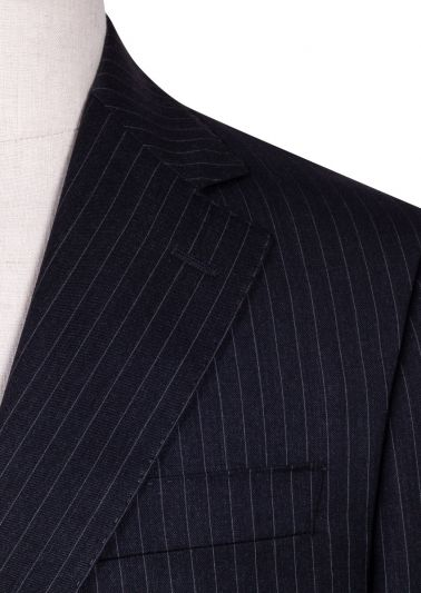 Sinclair Suit | Charcoal Pinstripe