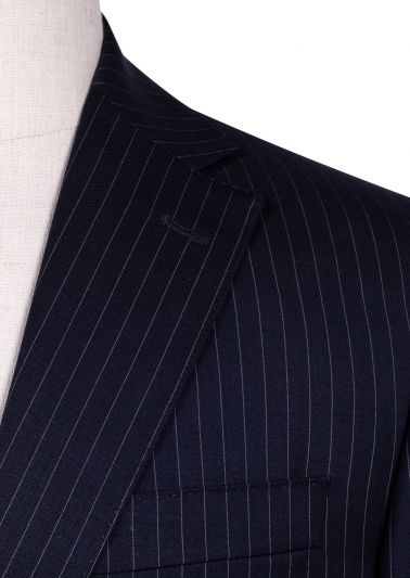 Sinclair Suit | Navy Pinstripe