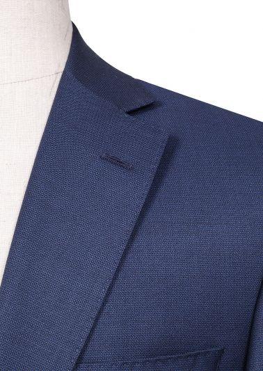 Brighton Suit | Blue Micro design
