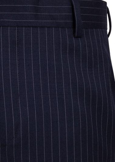 Montclair Trousers | Navy Pinstripe