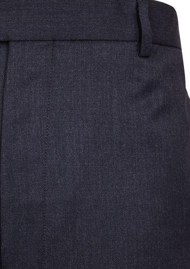 Adler Trousers | Dark Grey Twill