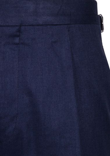 Carson Trousers | Navy Fine Twill